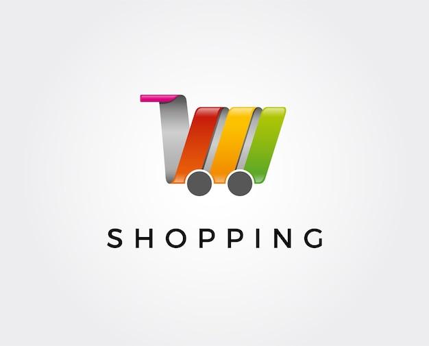 온라인 상점 로고 템플릿입니다.