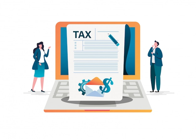 Online tax payment