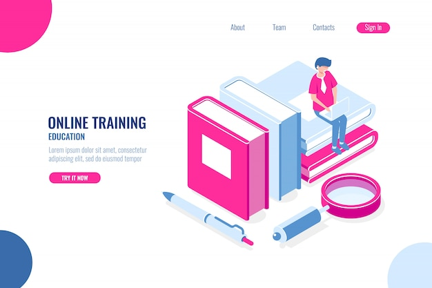 Online training, education