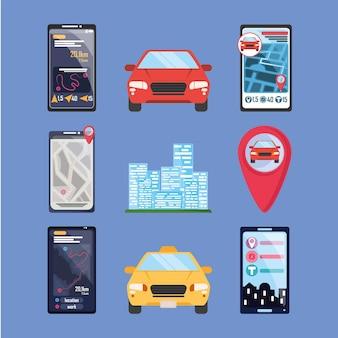 オンライン交通アプリ