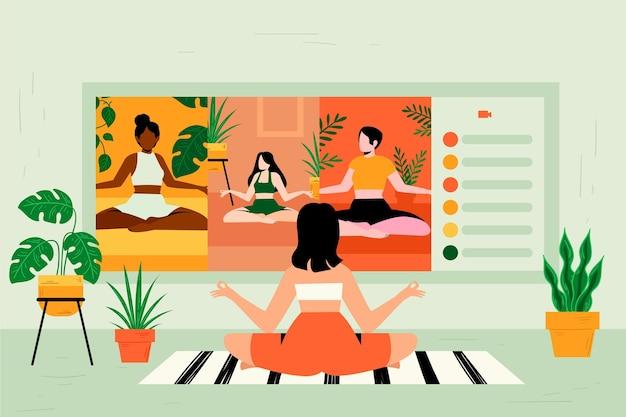 Интернет-класс йоги