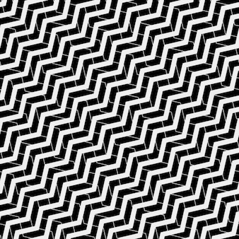 Op art pattern with zig zag lines
