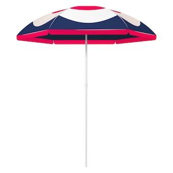オープンビーチカラフルな傘-3色