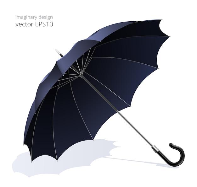 一般的な傘の杖を開きます。