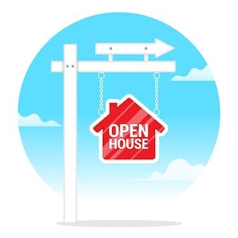 Open house indicator