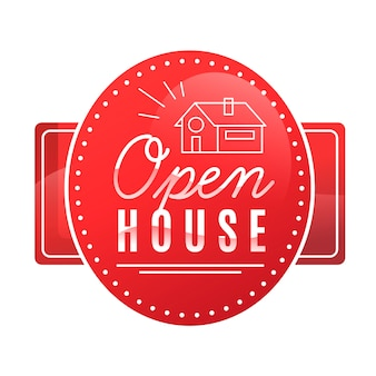 Open house label concept