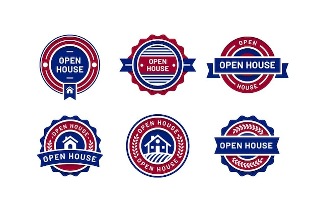 Open house label pack