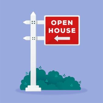 オープンハウスの不動産看板