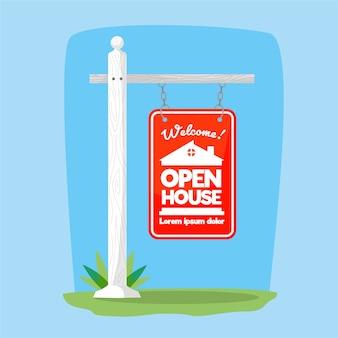 オープンハウスサインコンセプト