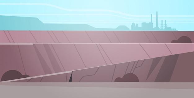 露天掘り鉱石採石場産業鉱山生産