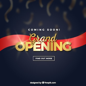 Opening soon background