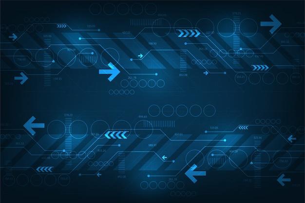 데이터를 전송하는 디지털 시스템의 작동.