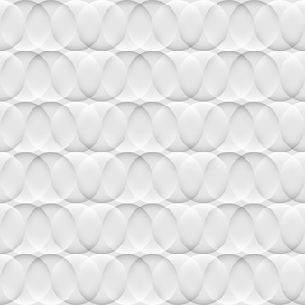 Optical abstract white and grey seamless pattern with circles