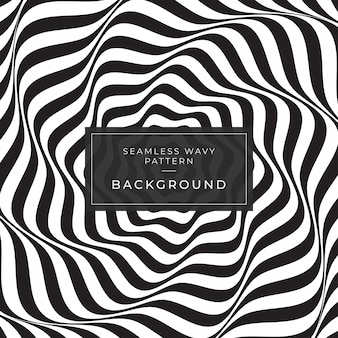 Optical illusion abstract lines background ads instagram geometric black and white line pattern eps10