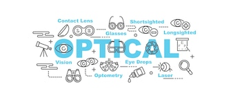 Optical vector banner