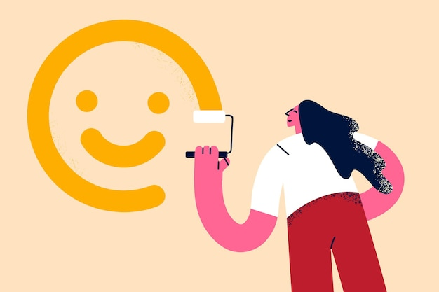 楽観主義ポジティブシンキングモチベーションコンセプト