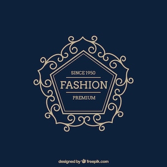 Oramental fashion logo