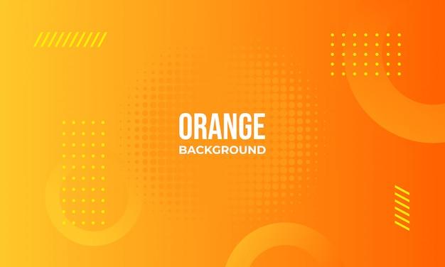 オレンジ色の抽象的な背景