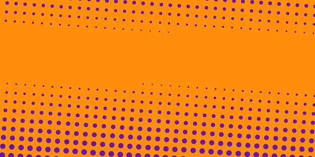 Orange abstract halftone background