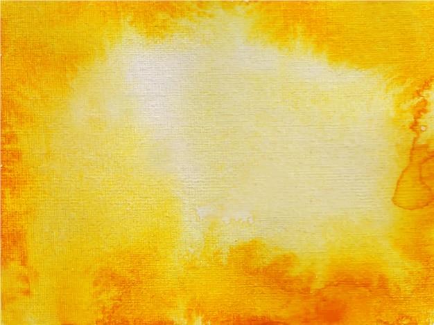 テクスチャ背景のオレンジ色の抽象的な水彩画の背景