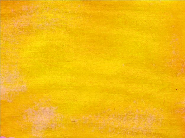 オレンジ色の抽象的な水彩画のハンドペイント。