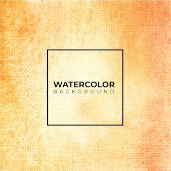 Orange abstract watercolor texture background,