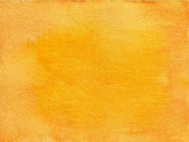 오렌지 추상 수채화