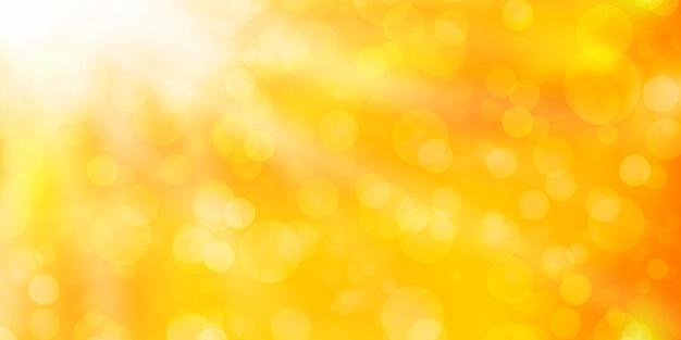 ボケ味を持つオレンジ色の抽象。