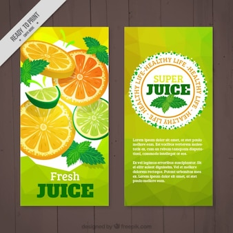 Orange and lime flyer