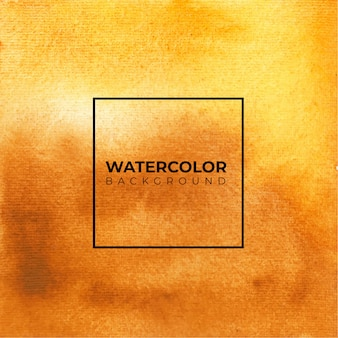 Оранжевый и желтый абстрактный и желтый акварельный фон.