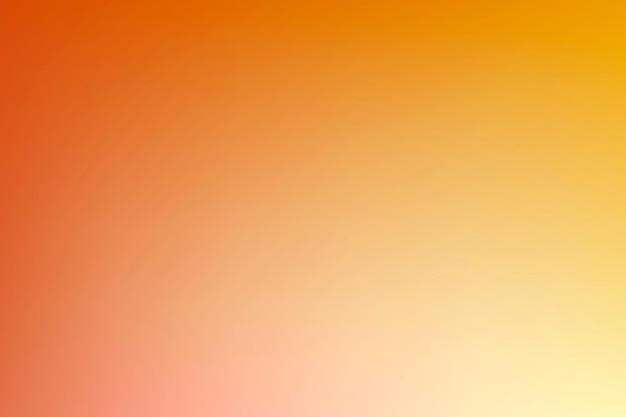 주황색과 노란색 그라데이션 벡터 배경
