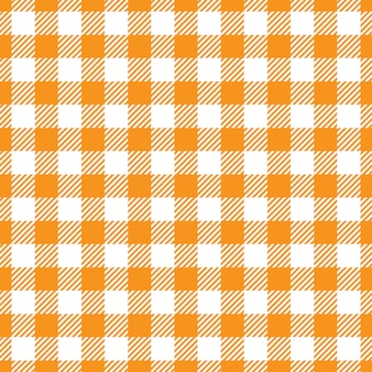 Orange ans white fabric texture