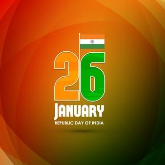 Orange background, republic day of india
