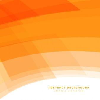 Orange background with curved shapes