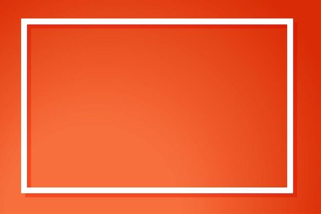 フレームとオレンジ色の背景