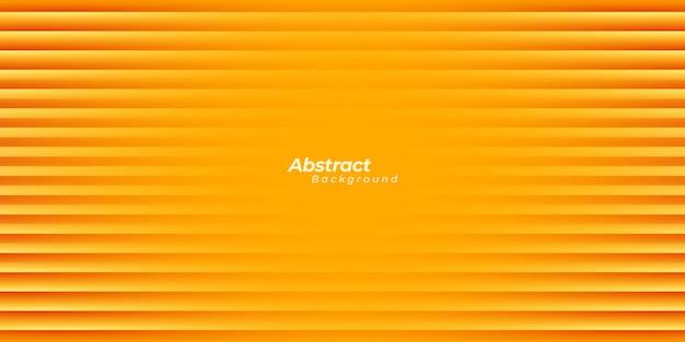 Orange background with lines.