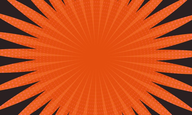 Orange and black line and halftone background. best line design for your business.