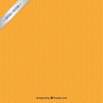 Orange braided pattern