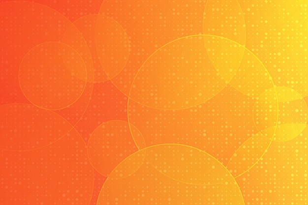 Orange color modern design geometric element vector abstract background