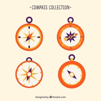 Orange compass pack