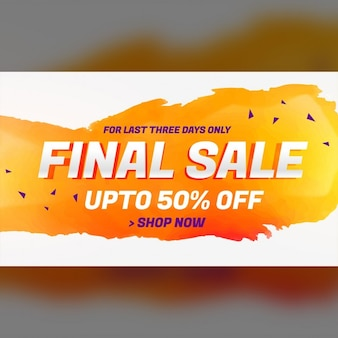 Orange discount voucher