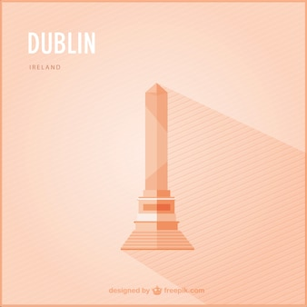 Orange dublin monument