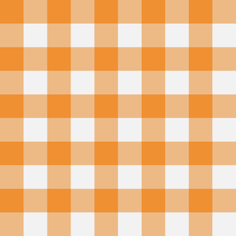Orange gingham seamless pattern texture from rhombus squares for  plaid tablecloths clothes