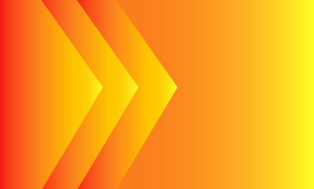 Orange gradient background. modern style