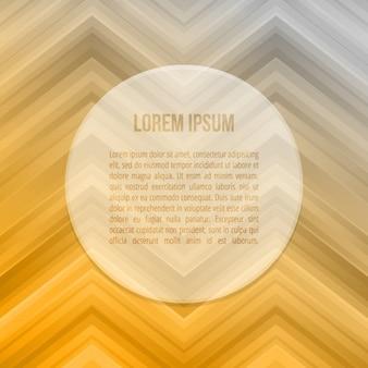 Orange and grey zigzag background template
