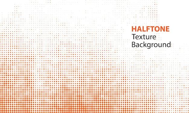 Orange halftone texture  background