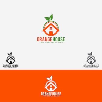 Orange house logo