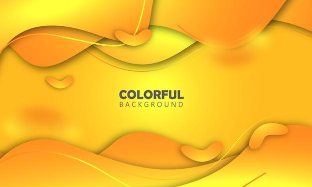 Orange liquid background