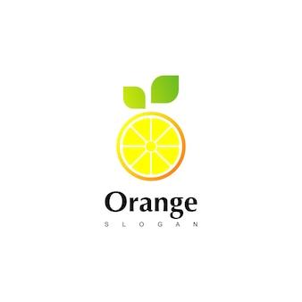 オレンジのロゴデザインのインスピレーション