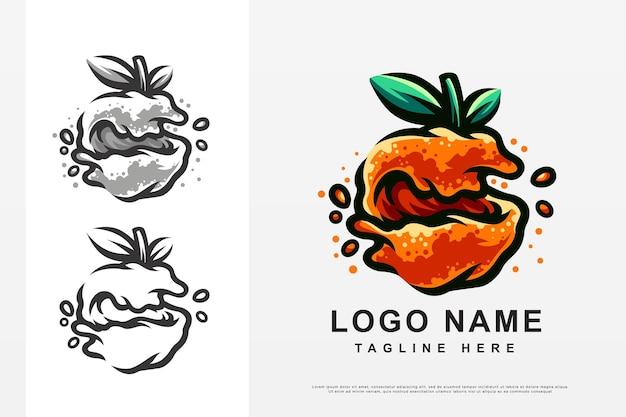 오렌지 로고 디자인